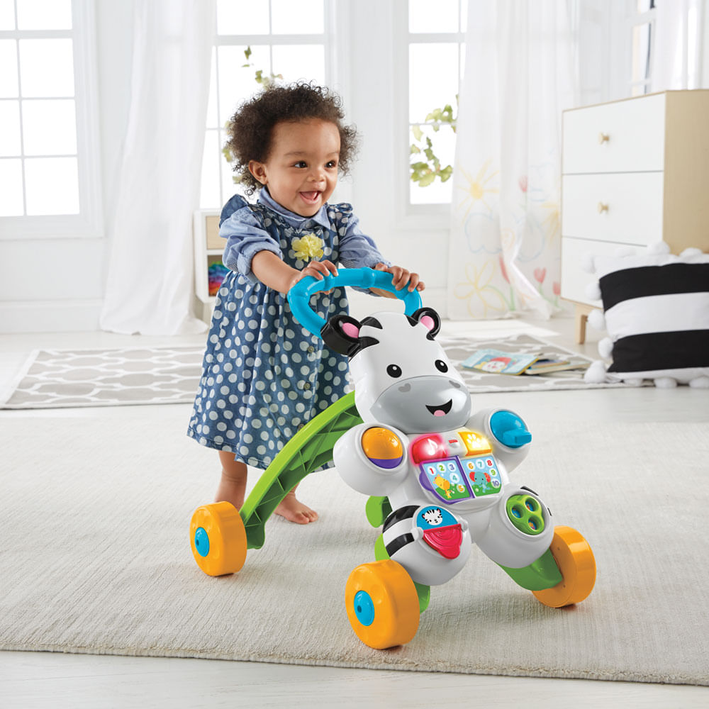 Andador com Atividades - Zebrinha com Luzes e Sons - Fisher-Price