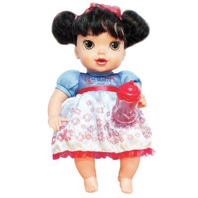 Boneca Princesas da Disney Mimo Brinquedos Baby Branca de Neve 6455