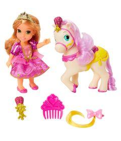 Boneca-Minha-Pequena-Princesa-com-Pet-e-Acessorios---Princesas-Disney---Rapunzel---Mimo