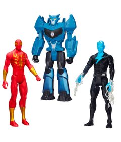 100121766-Kit-Personagens-Favoritos---Figuras-Articuladas-30-Cm---Titan-Hero-Iron-Spider---Electro-e-Steeljaw---Hasbro