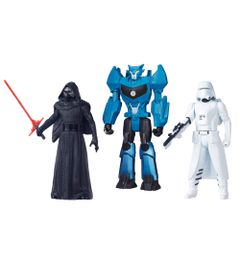 100121767-Kit-Personagens-Favoritos---Figuras-Articuladas-30-Cm---Villain---Trooper-White-e-Steeljaw---Hasbro