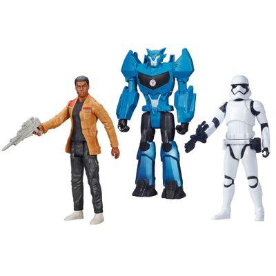 100121768-Kit-Personagens-Favoritos---Figuras-Articuladas-30-Cm---Finn---Trooper-Blue-e-Steeljaw---Hasbro
