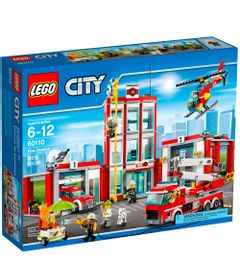 60110---LEGO-City---Quartel-de-Bombeiros-com-Veiculos