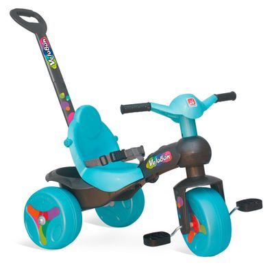 Triciclo---Veloban-de-Passeio---Azul---Bandeirante