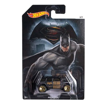 Carrinho-Hot-Wheels---DC-Comics---Batman-Vs-Superman---A-Origem-da-Justica---Batman---Rockster---Mattel