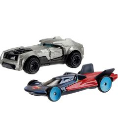 Carrinhos-Hot-Wheels---Pack-com-2---Batman-Vs-Superman---A-Origem-da-Justica---Armored-Batman-And-Man-Of-Steel---Mattel