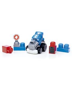 Mega-Bloks---First-Builders---Veiculos-de-Corrida---Speed-Sam---Mattel