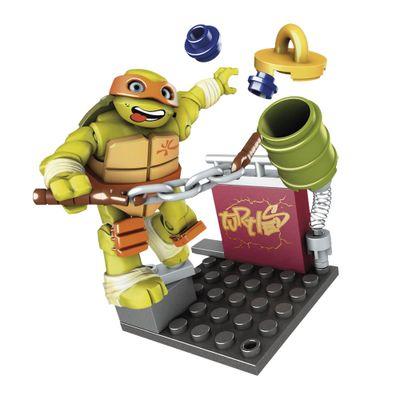 Mega-Bloks---Tartarugas-Ninja---Treino-na-Rua---Mikey-Nunchuk-Training---Mattel