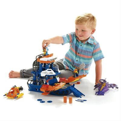 Playset-Imaginext---Navio-Comando-do-Mar---Fisher-Price