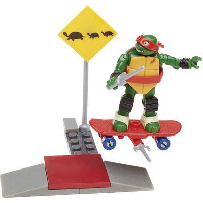 Mega-Bloks---Tartarugas-Ninja---Treino-na-Rua---Raph-Skate-Training---Mattel