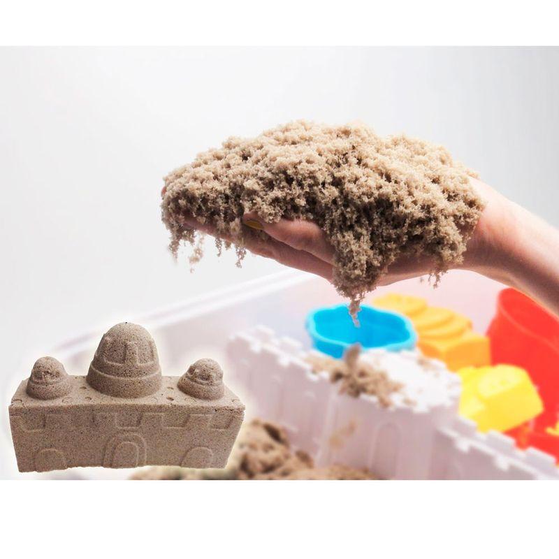 6823ca1ed2 Areia para Modelar - Massa Areia Clássica - Kinetic Sand - Areia - Sunny -  Ri Happy Brinquedos