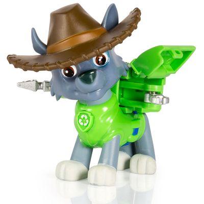 Mini-Figura-com-Mecanismo---Patrulha-Canina---Serie-Herois-Cowboys---Rocky---Sunny