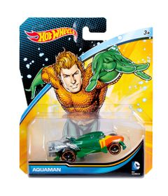 Carrinho-Hot-Wheels---Personagens-DC-Comics---Aquaman---Mattel