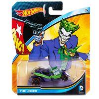 Carrinho-Hot-Wheels---Personagens-DC-Comics---Coringa---Mattel