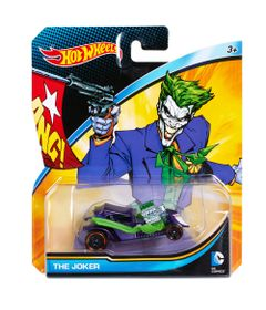 Carrinho-Hot-Wheels---Personagens-DC-Comics---Coringa---Mattel