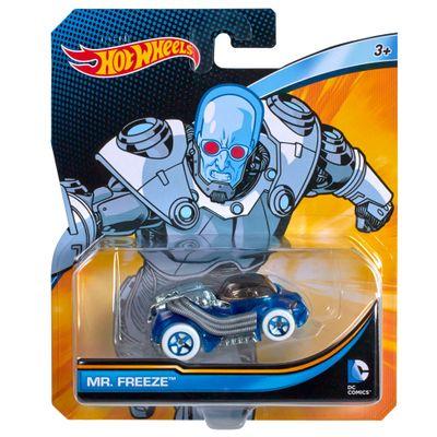 Carrinho-Hot-Wheels---Personagens-DC-Comics---MR-Freeze---Mattel