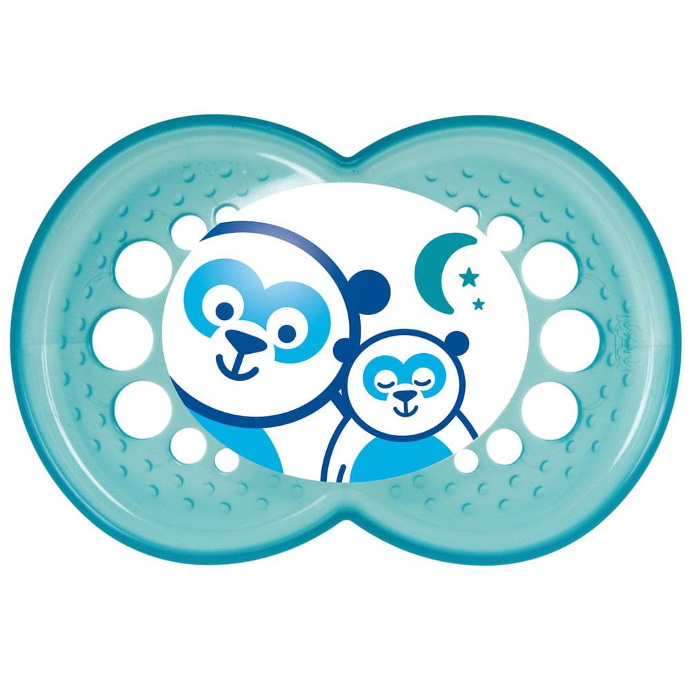 Chupeta Night Silk Touch Pandas - Acima de 6 meses - MAM