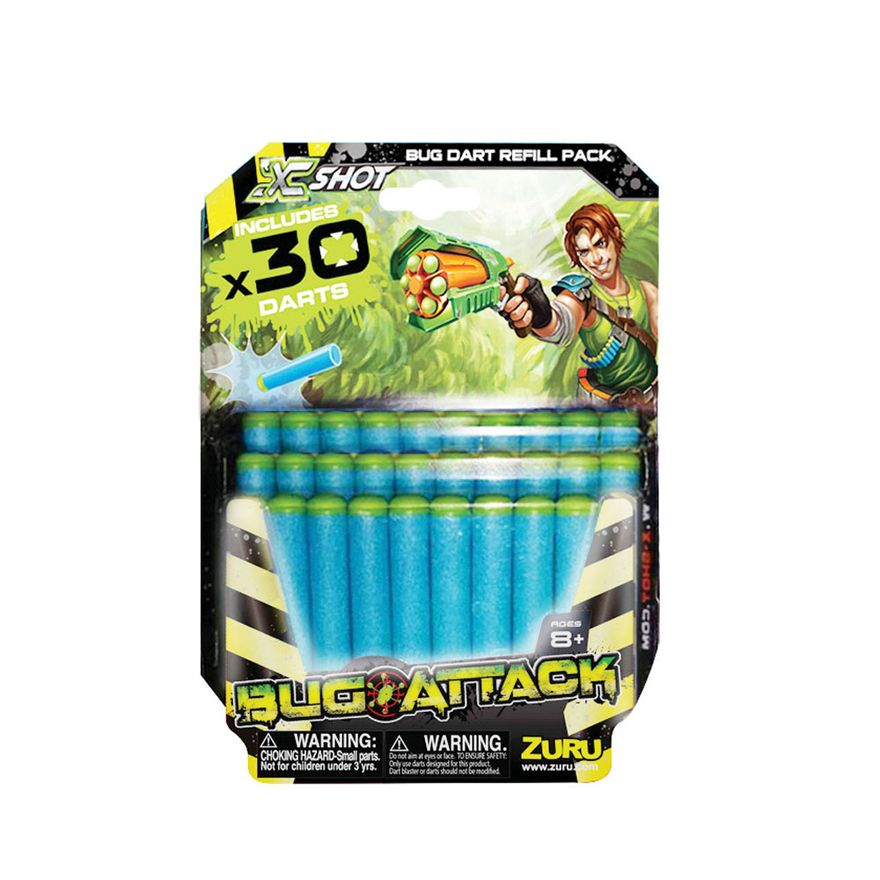 Refil---Bug-Attack---Pack-com-30-Dardos---Candide