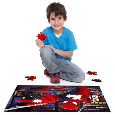 Quebra-Cabeca-Grandao---Marvel-Ultimate-Spider-Man---120-Pecas---Toyster
