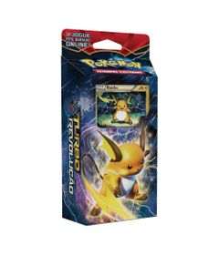 Deck-Pokemon---Starter-Deck---Pokemon-XY8---Turbo-Revolucao---Ataque-Ardente---Raichu---Copag
