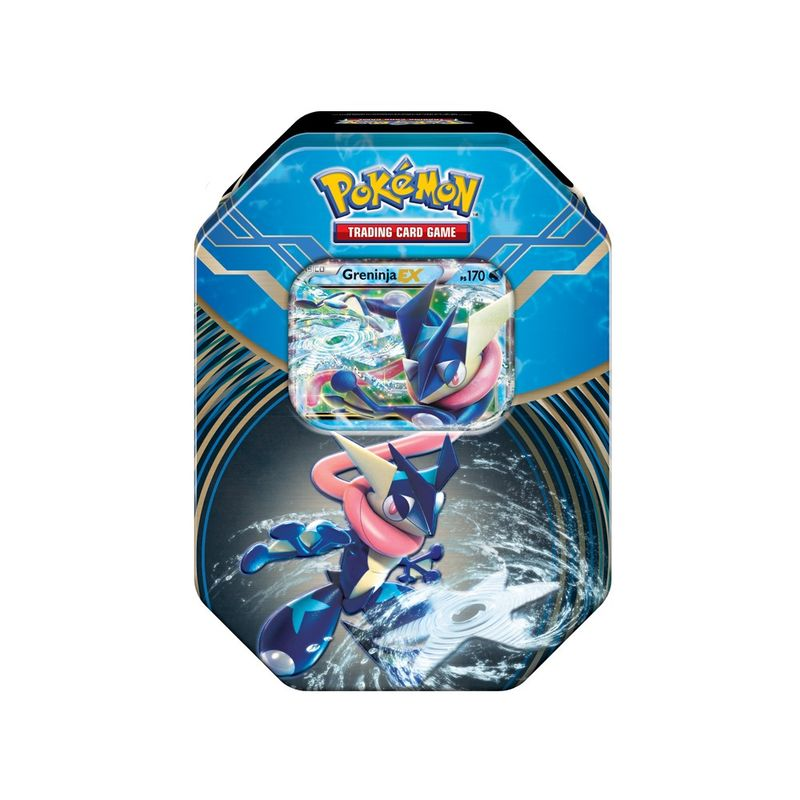 Jogo Pokemon Deck Lata Pokemon Xy 3 Kalos Power Greninja Ex