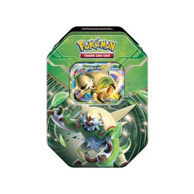 Jogo-Pokemon---Deck-Lata-Pokemon-XY3---Kalos-Power---Chesnaught-EX---Copag