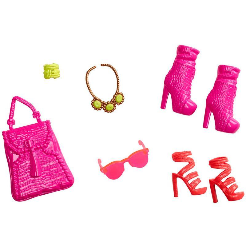 7d7911b1a Acessórios Barbie - Bolsas e Sapatos - Serie - 7 - Mattel - Saraiva