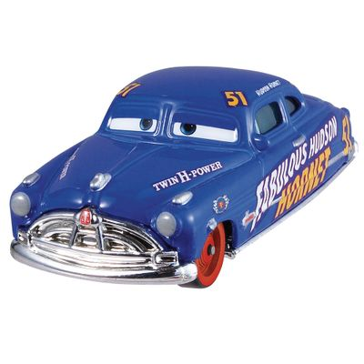 Carrinho-Cars---Veiculo-Basico-Diecast---Fabulous-Doc-Hudson---Mattel