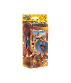 Deck-Pokemon---Starter-Deck---Pokemon-XY2---Flash-de-Fogo---Trovao-Reluzente---Copag