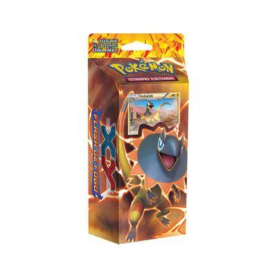 Deck-Pokemon---Starter-Deck---Pokemon-XY2---Flash-de-Fogo---Trovao-Reluzente---Copag