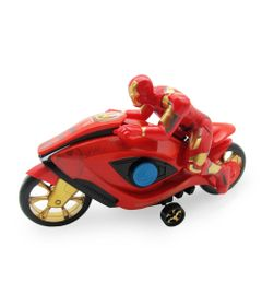 Moto-de-Friccao---Marvel-Avengers---Iron-Man---Toyng