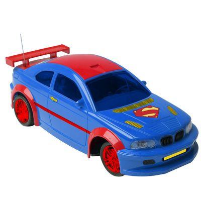 Carro de Controle Remoto Movido a Bateria Power Machine Superman Candide