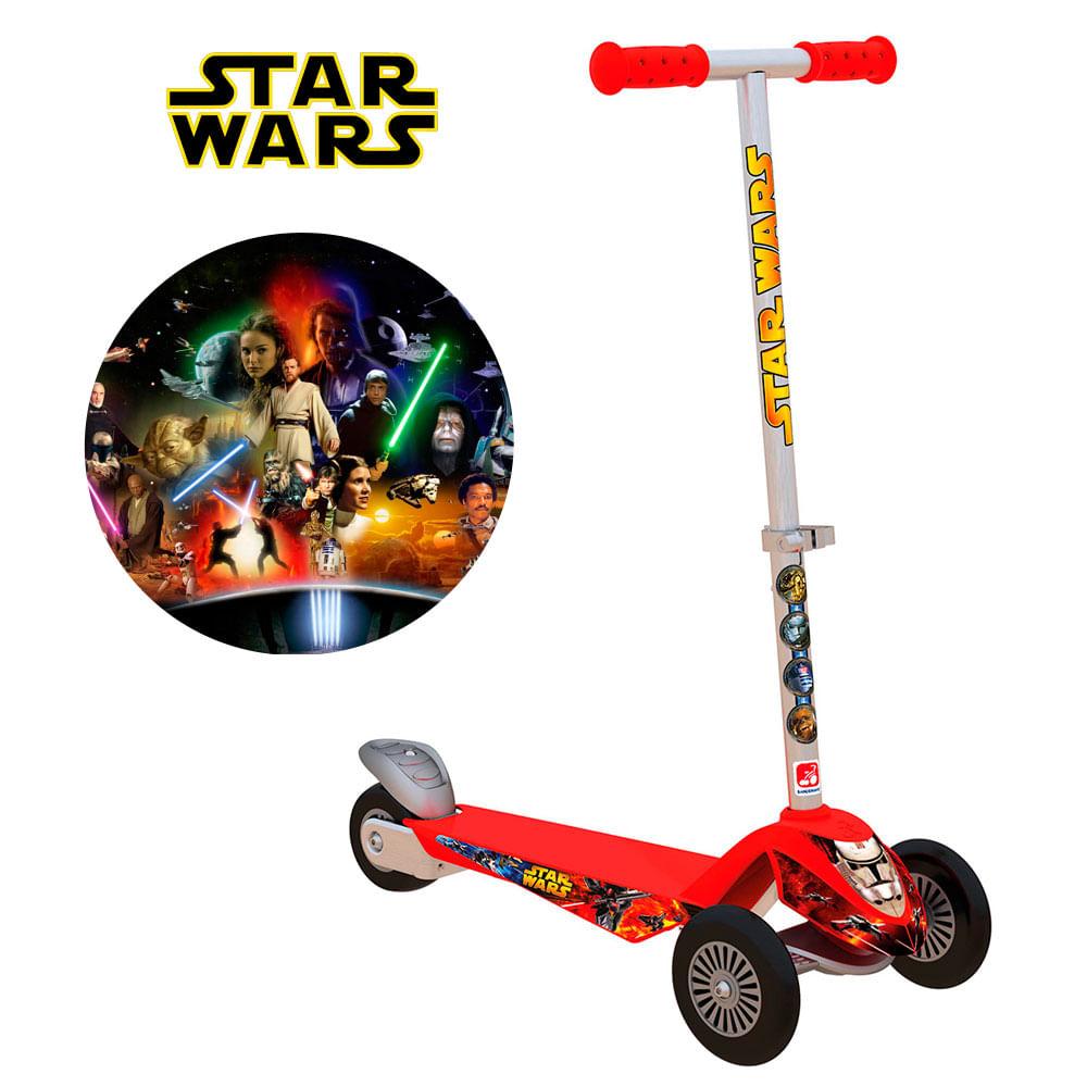 Skatenet Max - Star Wars - Bandeirante - Disney
