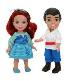 Pack-2-Bonecas---Disney-My-First-Princess---Casais-Encantados---Ariel-e-Principe-Eric---New-Toys