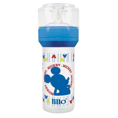Mamadeira-Disney-Super-Ortodontico-Silicone-260-ml-Mickey-Azul---Lillo