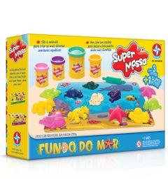 Massa-de-Modelar---Super-Massa---Molde-Figuras-do-Fundo-do-Mar---Estrela