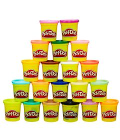 Massa-de-Modelar---Play-Doh---Pack-com-20-potes-Sortidos---Onibus---Hasbro