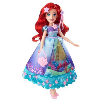 Boneca-com-Acessorios---Princesas-Disney---Lindos-Vestidos---Ariel---Hasbro