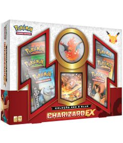 Jogo-Deluxe---Box-Pokemon-20-Anos---Geracoes-Red---Blue---Charizard-EX---Copag