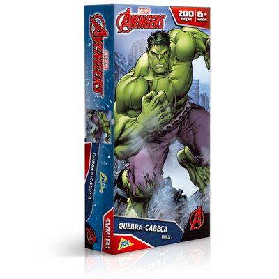 Quebra-Cabeca---Os-Vingadores---Hulk---200-Pecas---Toyster