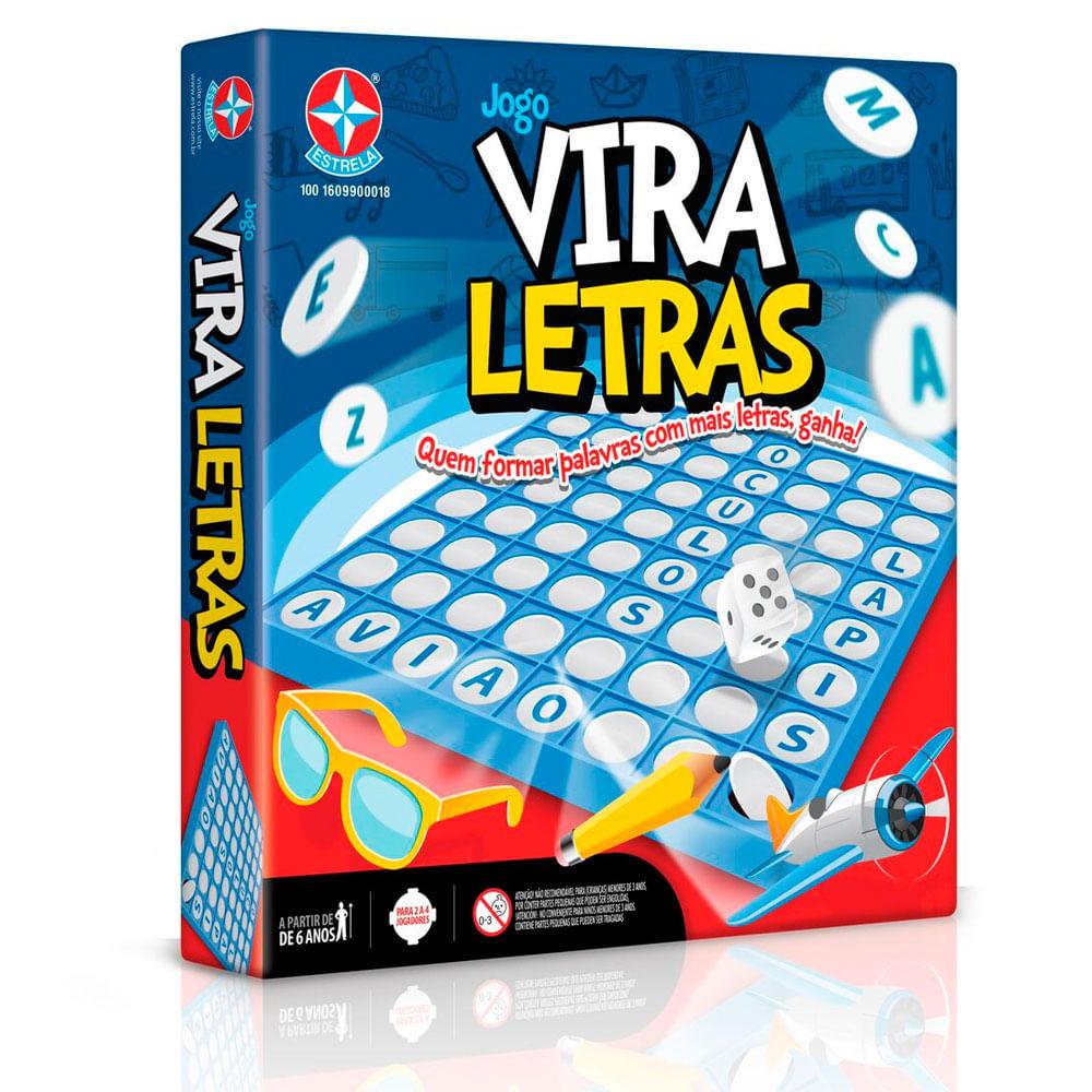 Jogo Vira Letras - Estrela