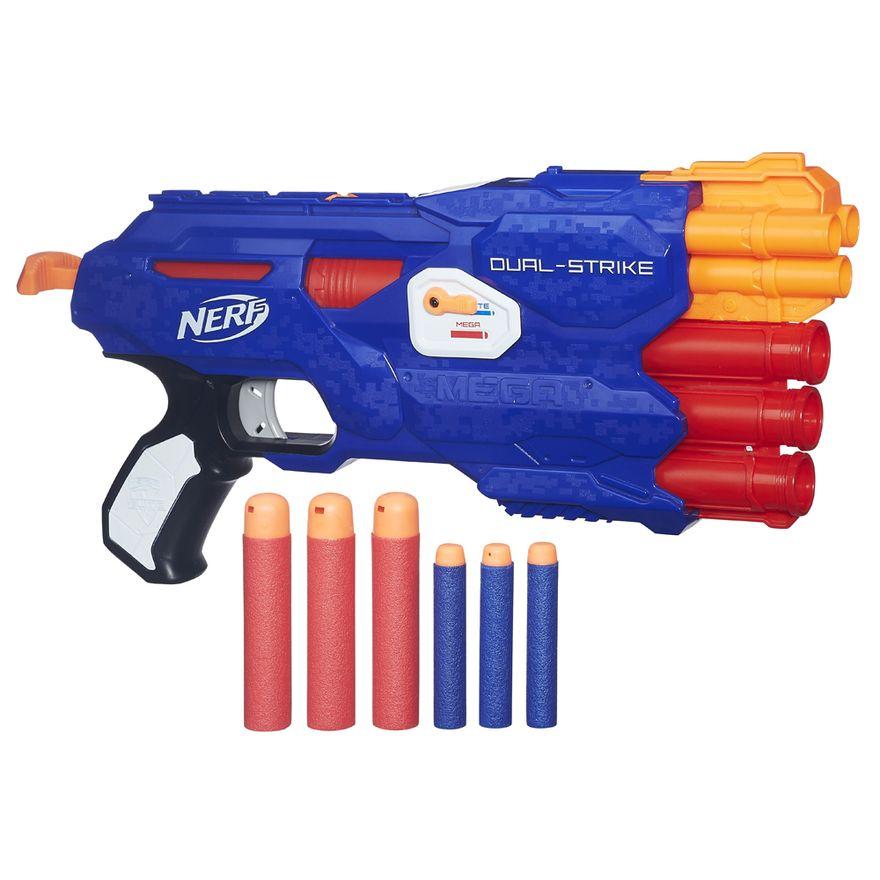 Lancador-de-Dardos---Nerf-Elite-Dual-Strike---Hasbro