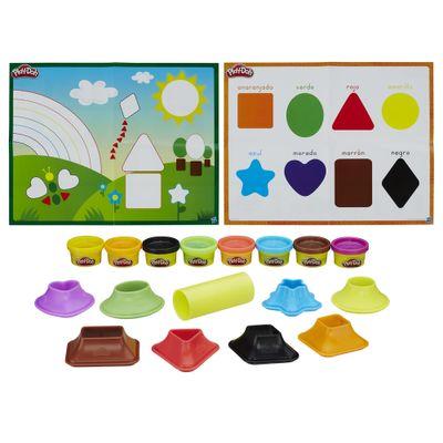 Massa-de-Modelar---Play-Doh---Aprendendo-Cores-e-Formas---Hasbro