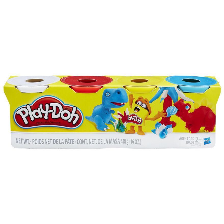 Massa-de-Modelar---Play-Doh---Cores-Sortidas---Serie-Dinos---Hasbro