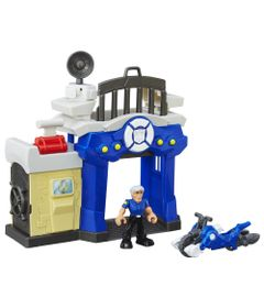 Playset-e-Mini-Figura-Transformavel---Playskool-Heroes--Transformers-Rescue-Bots---Posto-de-Policia-de-Griffin-Rock---Hasbro