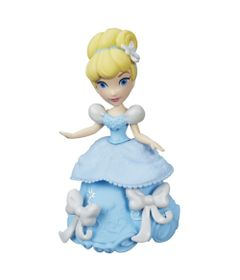 Mini-Boneca-com-Acessorios---Disney-Princesas---Little-Kingdom---Cinderela---Hasbro