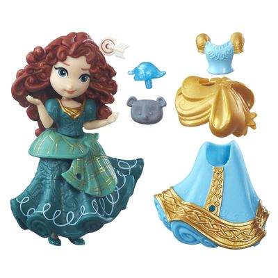 Mini-Boneca-com-Vestidos---Disney-Princesas---Little-Kingdom---Merida---Hasbro