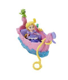 Mini-Boneca-e-Barquinho---Disney-Princesas---Little-Kingdom---Barco-dos-Sonhos-da-Rapunzel---Hasbro