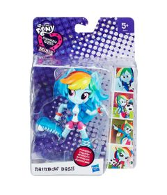 Mini-Boneca-Equestrial-Girls-Articulada---My-Little-Pony---Rainbow-Dash---Hasbro