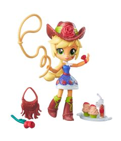 Mini-Boneca-Equestrial-Girls-com-Acessorios---My-Little-Pony---Applejack---Hasbro